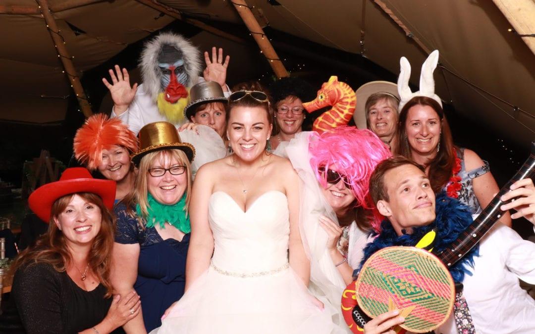 Emma and Luke's Wedding at Five Oak Events
